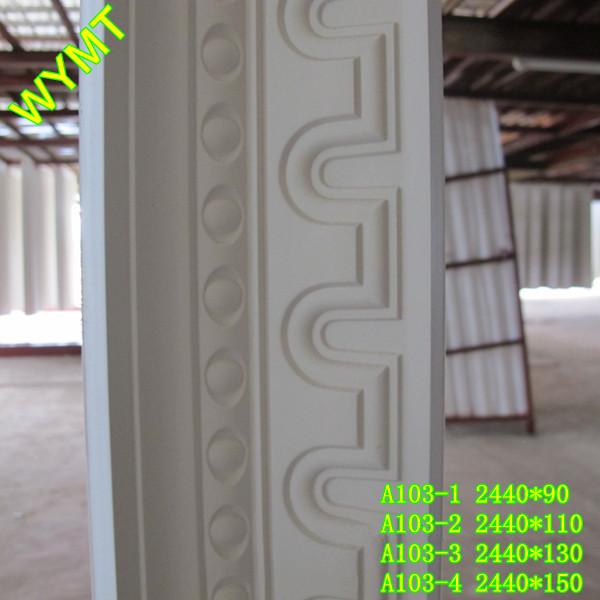 2015 New Design Exterior Cornice Crown Molding Buy Gypsum Plaster Cornice