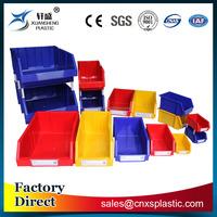 Industrial combined stackable plastic storage bins