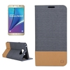 Promotional Flip Leather Wallet Cell Phone Case for Samsung Galaxy Note 5