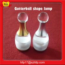 Shenzhen led manufacturer wholesale restaurant European fashion Gutterball shape led color changing table lamp