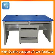 Manual ergonomic computer table design height adjustable working desk pc desk