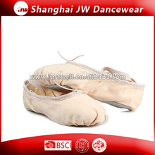 Fashion 2014 Top Quality Wholesale Ballet Shoe Worldwide Canvas Ballet Slipper