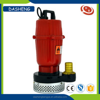 High quality high volume submersible sewage water pump 1hp 3hp