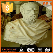 2014 PFM hot sale natural beautiful hand carved marble stone for grave