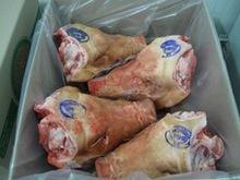 Frozen pork heads