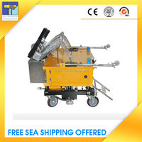 Hot Sale Automatic Sand And Cement Plaster Finishing Tools For Wall