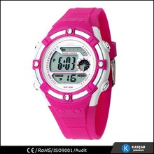 colorful digital ring watch sport, 3ATM water resistant
