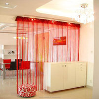 beautiful and nice deisgn Flat string curtain
