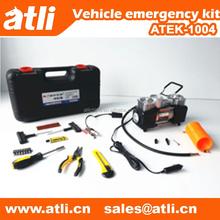 Car emergency kit in emergency tools
