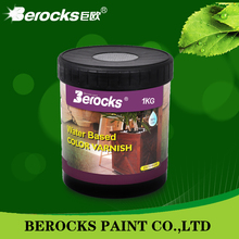Furniture lacquer wood paint coating/Berocks water based paint