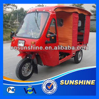 High Quality Classic 3 wheel motor tricycle with cabin