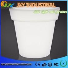 Biggest Round Outdoor Waterproof Plastic LED Flower Pot