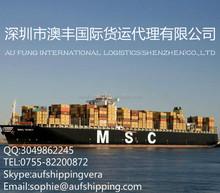 บริษัทขนส่งสินค้าจากเซินเจิ้นไปอเมริกา