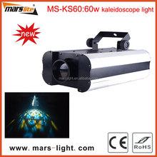 60W led scanner light, kaleidoscope light, effect led light for disco dj club