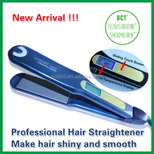 New product for 2014 name brand flat iron hair straightener