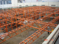 prefab steel roof truss structure building high quality steel roof truss for sale structural steel roof trusses
