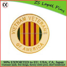 Free artwork design custom Vietnam War Badge Pin