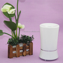 High quality Color-changing Ultrasonic White Electric 150ml Humidifier LED Lamp Aroma Diffuse