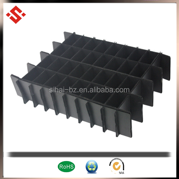 corrugated plastic hollow partition
