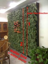 artificial grass artificial plants vertical garden