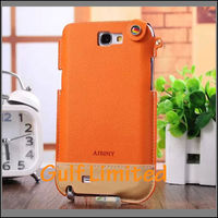 Fancy Rainbow Leather Flip Phone Case For Samsung Galaxy Note 2