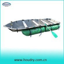 4.2m high polymer PP portable inflatable pontoon fishing boat