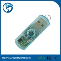 wholesale blue plastic bulk 512mb usb flash drives for promotional gifts