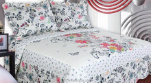 Patchwork Bed Sheets - Brushed Polyester - Love of butterfly