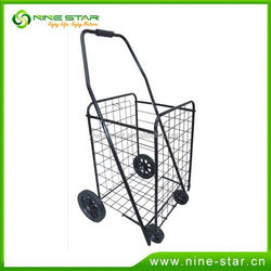 Factory sale low price three wheel shopping trolley from China workshop