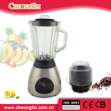 High Quality Metal Base and Glass Jug Blender