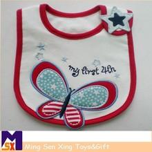 shenzhen factory supplier fashion fabric to make baby bibs