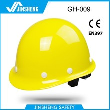 hard quality ABS/HDPE round construction cheap work safety helmet