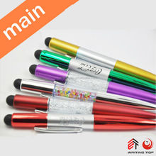 2015 New design popular advertising gift bling crystal pen