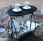mesa de ferro forjado