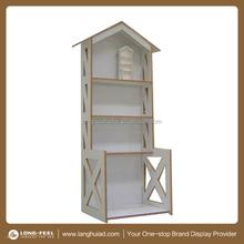house model cardboard display box, paper display stand, POP display