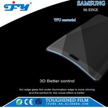 Full coverage TPU anti shock anti explosion screen protector for Samsung S6 edge