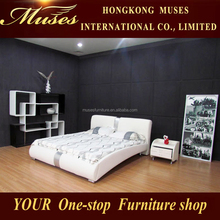 Fashion leather bed modern simplicity SY10014