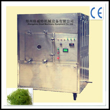Industrial carrageenan/seaweed/shrimp box type microwave batch drying oven/dryer machine