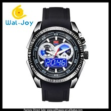 multifunction silicon high-grade attractive high quality 50 meters water resistant men TVG watch(WJ-4221)