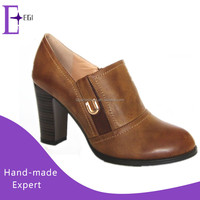 cheap wholesale ladies cut shoes in china/ fashion high heel shoes ladies