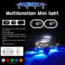 mini truck light bar rgb off road led rock lights