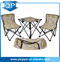 family camping folding table and chair for garden and outdoors