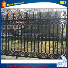 hot sale wrought iron fence ornaments,cast iron fence ornaments,wrought iron garden fence