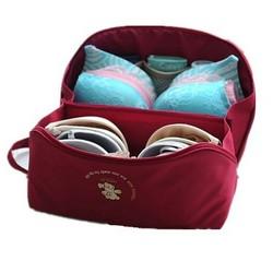 Bra Underwear Lingerie Handbag Organizer Bag Pouch Case For Travel Trip