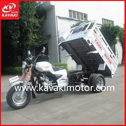 150cc air-cooled cargo 3-wheeler tuk tuk/ three wheel motorcycle/cargo tricycle made in guangzhou china