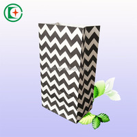 Custom printed recycle thank you/make up paper bag