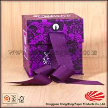 Unique style foldable alibaba perfume box gift for packaging