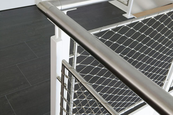 Stainless Steel Staircase Mesh