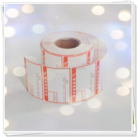 adhesive thermal paper in jumbo roll for electronic scales label