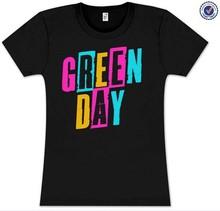 Fashion Custom Printed Green Day T-Shirt